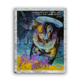 Printable Street Trash 1987 horror black comedy b-movie poster - vintage print poster