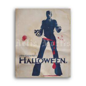 Printable Halloween - vintage 1978 cult horror movie poster - vintage print poster