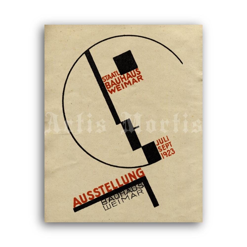 Bauhaus Konstruktionen Exhibition Poster 1922  Digital Download Bauhaus Poster  Moholy-Nagy Wall Art  Geometric  300dpi HI-RES JPEG