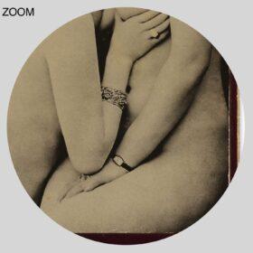 Printable Retro sensual lesbians photo – vintage French cabinet card - vintage print poster