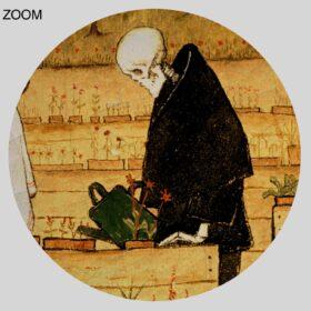 Printable Garden of Death by Hugo Simberg – vintage dark art - vintage print poster